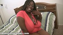 Black bbw getting fucked by white cock