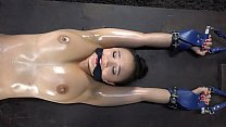 Roxy Shackled, Gagged and Cut by Pendulum in Dungeon.  Short version. Find Long Here:   https://www.xvideos.red/channels/customfetish# tabRed thumbnail