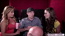 Teen cherie in a movie date dicking threesome with milf molly and hunk bf d (school girl sex.com) thumbnail