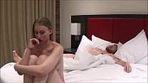 Brother & Sister Share Hotel Room on Vacation -...
