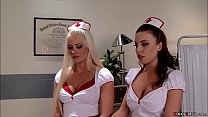 Huge tits nurse anal fuck assistants