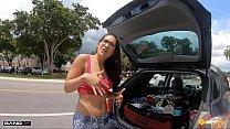 Roadside - Spiritual Teen Fucks To Get Her Car Fixed Preview