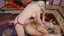 Lesbians anal fucking each other