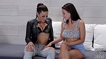 Innocent looking Lana Rhoades wants to be a kinky lesbian Preview