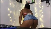 Kriss Hotwife In Skirt Dancing Showing Big Pussy