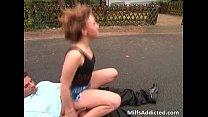 Amazing public sex on the street by very Vorschaubild