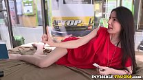 Amateur babe pussyfucked in public truck tumblr xxx video