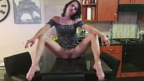 Small titted brunette milf smoking compilation