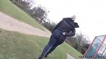 sexy ass British milf in lycra and spandex pornhub video