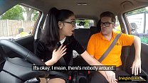 Julia De Lucia gets banged in the car