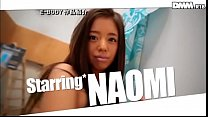 Naomi sucks and fucks thumb