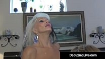 Texas Cougar Deauxma Watches As Sally D'Angelo Bangs Hubby!缩略图