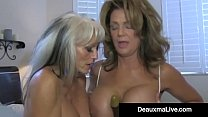 Texas Cougar Deauxma Watches As Sally D'Angelo ...