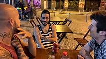 Me and my friend remembering Guilhermedott's dick made us sit down again