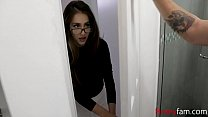 Nerd Sister Takes Care Of Brother Dick- Sofie Reyez