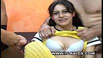Sandrita empieza su carrera porno