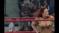 WWE Diva Trish Stratus Stripped To Bra & Panties ( Raw 10-23-2000 ) صورة
