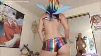 Rainbow Dash Cosplay's Thumb