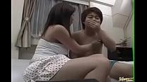 Upskirt sex along milf, Nana Masaki - More at hotajp.com