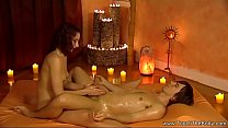 Blonde MILf Gives Relaxing Massage