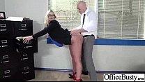 Busty Horny Girl (julie cash) Get Hard Style Sex In Office vid-18 video