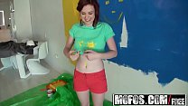 Mofos - Lets Try Anal - (Emma OHara) - Redhead Tits Painting Nude image