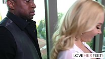 Aaliyah Love Interracial Footjob Interview With... Thumbnail
