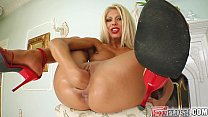 Fist Flush She squirts bucket loads from her pussy tumblr xxx video