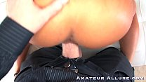 BUSTY BABES ENJOY BLOWJOBS & GETTING FUCKED thumbnail