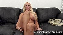 Big Tits MILF Creampie on Casting Couch Image
