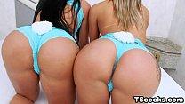 Bruna Butterfly and Juliana Souza Love Anal