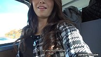 Free download video bokep Japanese woman, Maki Hojo sucks dick in a car, uncensored