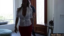 MILF stepmom pounded after sensual foreplay