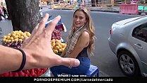 CARNE DEL MERCADO - Intense pickup fuck with a sexy Latina babe