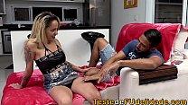Sobrinha caiu na lábia de seu Tio e deu até o cuzinho ( Barbara Alves )