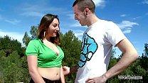 MyFirstPublic Busty horny stepmom show to stepson secrets of sex outdoor