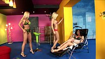 sybilla, wivien and helena sweet threesome image
