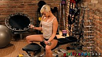 Girlfriends Fit blonde girl with perfect plump ...
