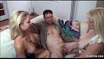 Hot Blondies Tag-Team A Dick