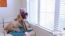 Little Kitties Awaiting Daddy (Brenna Sparks - Sami Parker): AsianSpanks.com