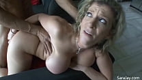 Rough Sex! Sara Jay Sucks And Fucks That Hard D...