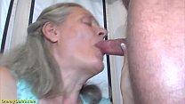 92 years old granny doing deepthroat Vorschaubild