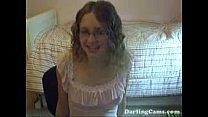 Amateur Webcam Model Kitty Masturbates and Cums on Cam - DarlingCams.com