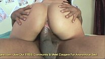 Isabella Cruz Backs Her Big Brown Booty Up On A Hard Dick thumbnail