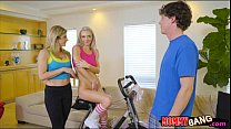 MILF and stepson 3way with teen neighbor video