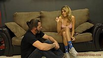 Brat Stepdaughter Makes Her Stepdaddy Her Slave thumbnail