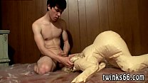 Gay twink pissing mouth movies A Doll To Piss All Over