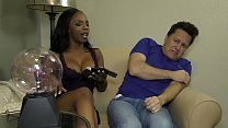 Bratty Black Stepdaughter Makes Her Stepdaddy Worship Her Image