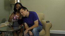 Bratty Black Stepdaughter Makes Her Stepdaddy Worship Her Image