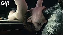 Resident Evil - Jill Valentine Deepthroat (GeneralButch)